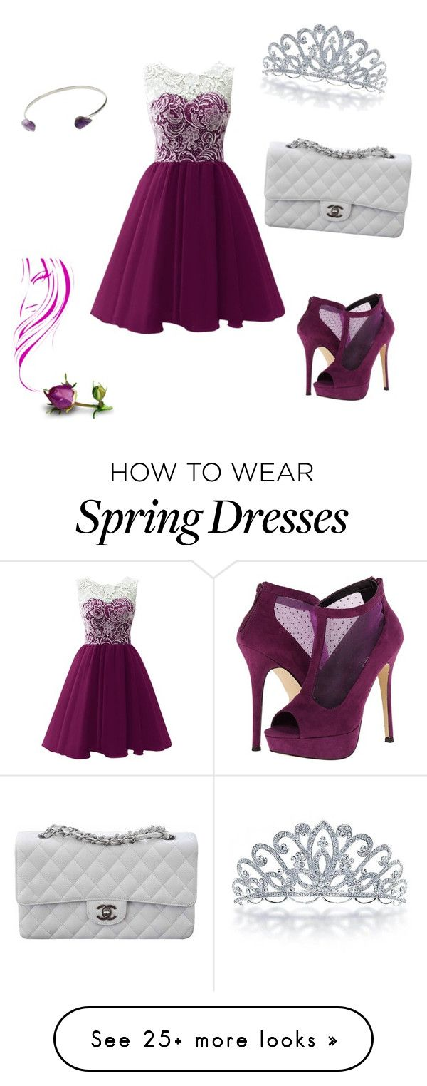 """""""Prom"""" by nifka1 on Polyvore featuring Call it SPRING, Topshop, Bling Jewelry and Chanel"""