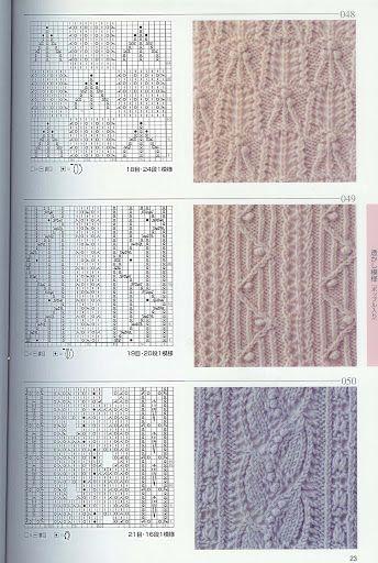 Kira knitting: Knitted pattern no. 64