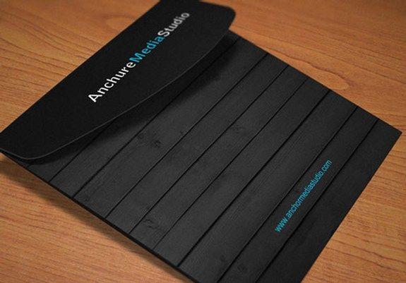 Anchure-Brosur Desain Warna Hitam
