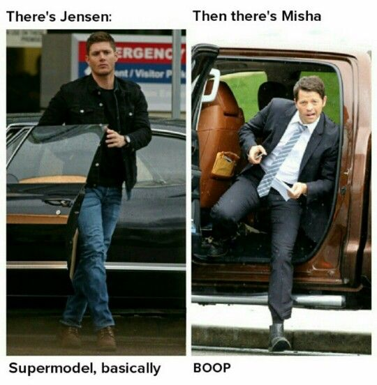 misha collins meme car - photo #21