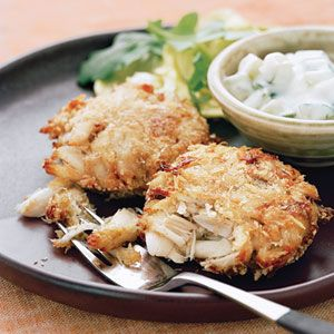 Crab Cakes with Indian Flavors