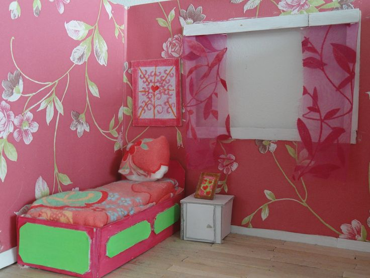 Voorbeeld maquette slaapkamer interieur 3d pinterest - Model slaapkamer ...