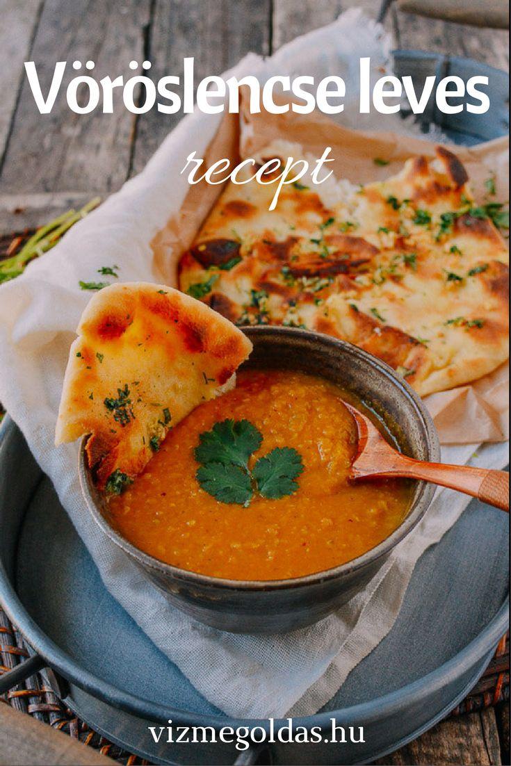 Egészséges receptek - Fogyókúrás vöröslencse leves recept sárgarépával, almával és édes burgonyával