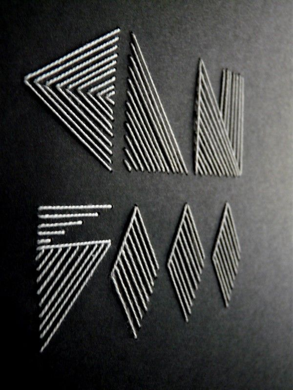 string art.dye your own batches then use them in linear format -nick