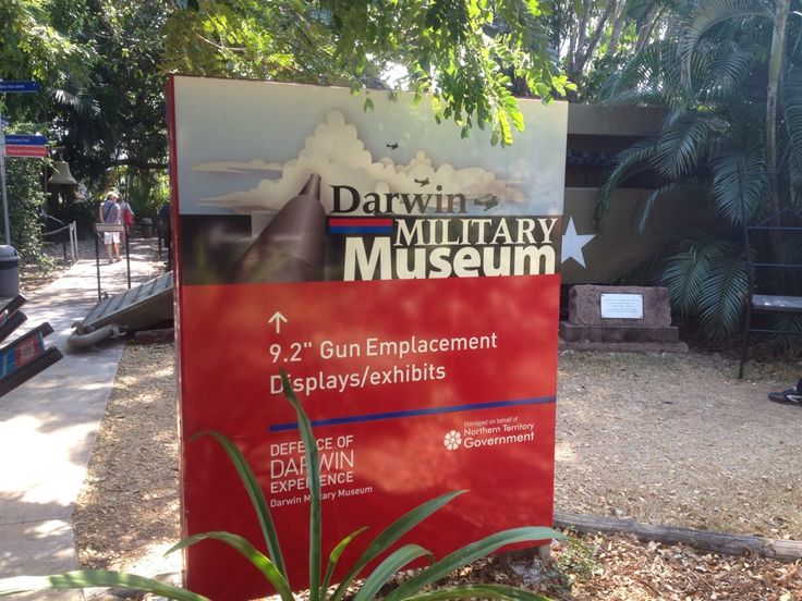 Darwin Military Museum in East Point, NT