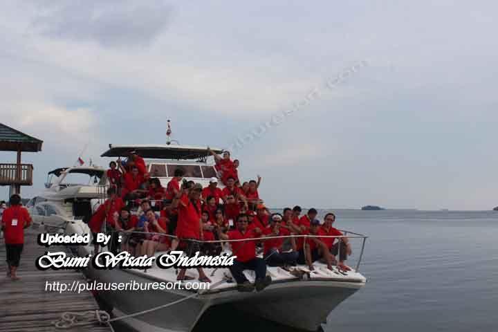 Sunset Cruise at Putri Island - Thousand Islands Vacation | Sunset Cruise - Pulau Putri Kepulauan Seribu