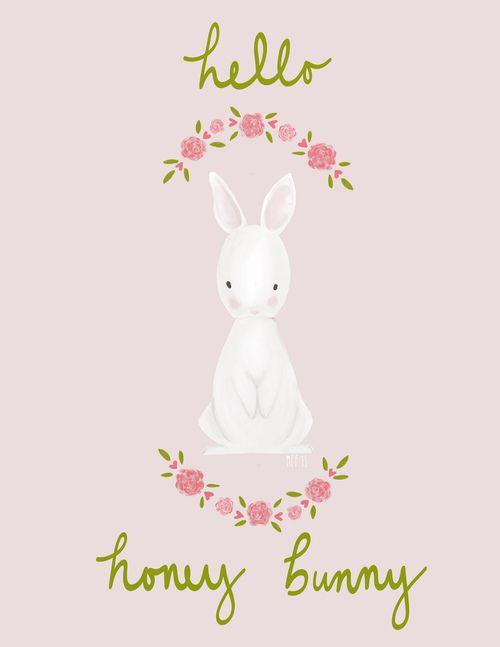 Of hearth and home — Honey Bunny ~ by Mari Fray Foster