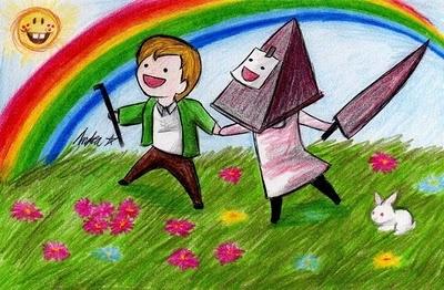 James & Pyramid (Silent Hill 2) <--- Oh, my Gawwwd.....  -_-