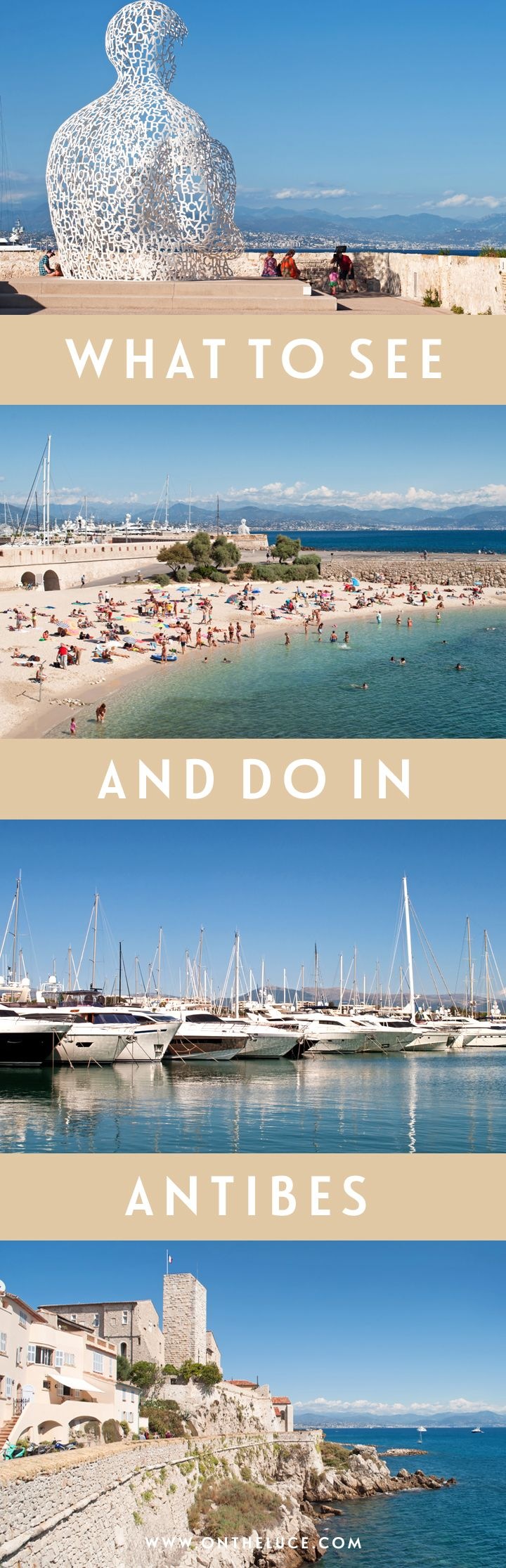 From superyacht spotting to sandy beaches – what to see and do in the beautiful walled town of Antibes on the South of France's Côte d'Azur