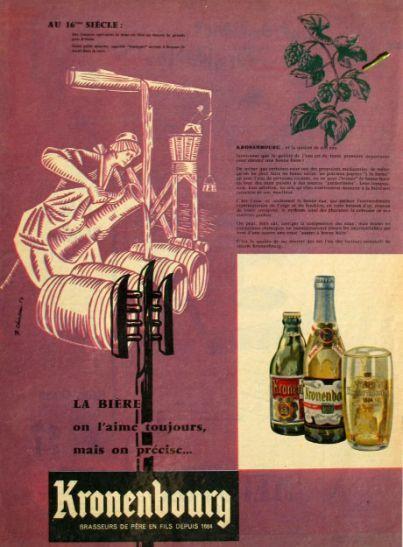 Bière Kronembourg - Bières - Publicités anciennes