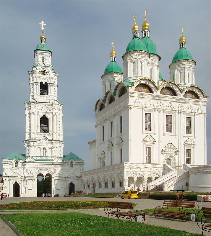 Within Astrakhan Kremlin - Astrakhan, Astrakhan. - Russia