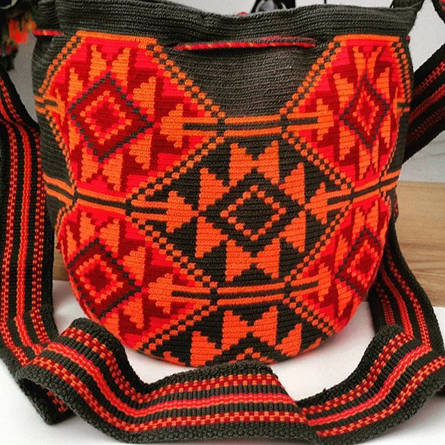 Wayuu Mochila bag #hechoamano #bohochic #tendencia