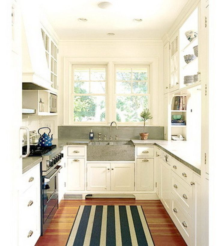 Galley kitchen designs white best 10 white galley kitchens for Kitchen remodeling ideas pinterest