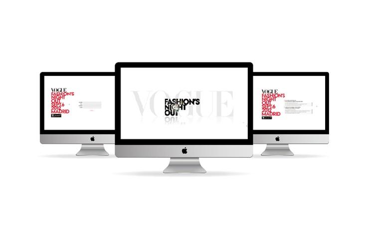 Vogue Fashion Night Out.  Cuestionario de satisfacción online.