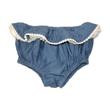Puff Frill Shorts Chambray Rock Your Baby