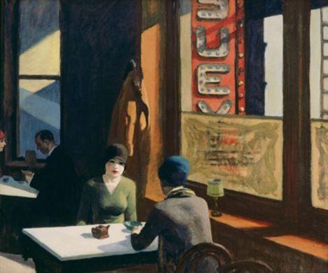 Edward Hopper: Chop Suey, 1929