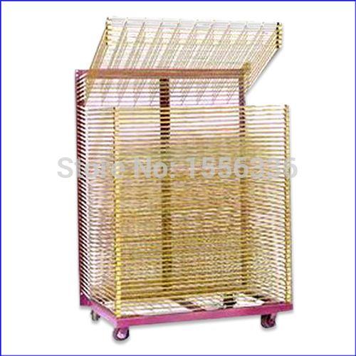 sale precison silk screen printing drying rack, industrial drying rack