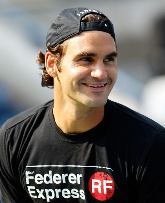 The Hottest Male Tennis Players at the 2014 U.S. Open: Roger Federer of Switzerland. #InStyle