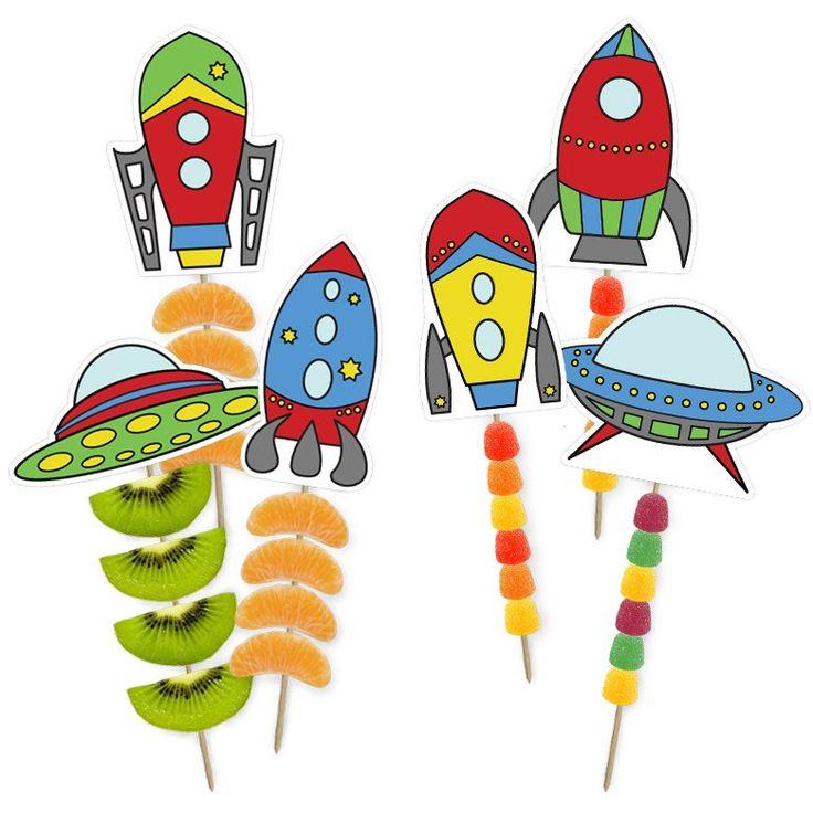gezonde en stoere ruimte traktatie van raketjes en ufo's