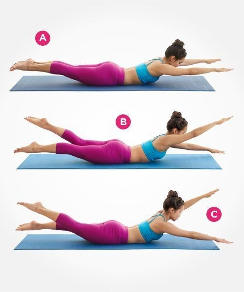 Swimmer - Work Your Core With These Ab Exercises - Photos