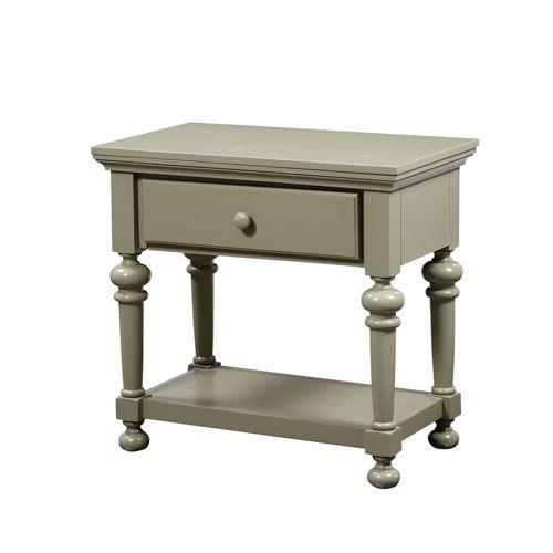 Alida Antique Green Nightstand Comfort Pointe Nightstands Nightstands Bedroom Furniture