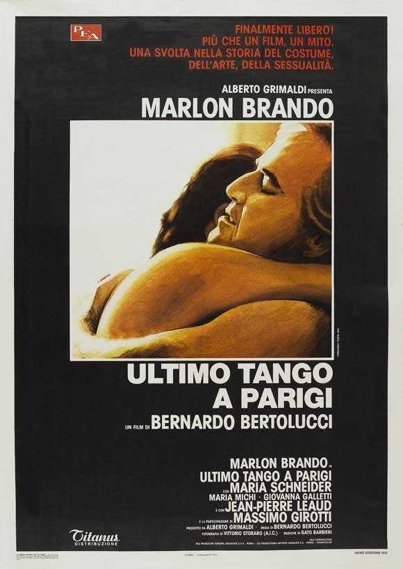 Ultimo tango a Parigi (1972) Country: Italy. Director Bernardo Bertolucci. Cast: Marlon Brando, Maria Schneider
