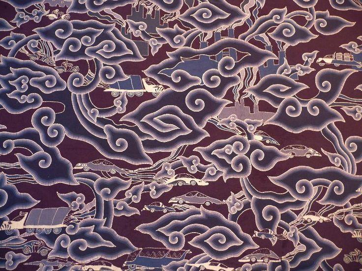Modern Take On Good Old Cirebon Dioxida Batik Pattern