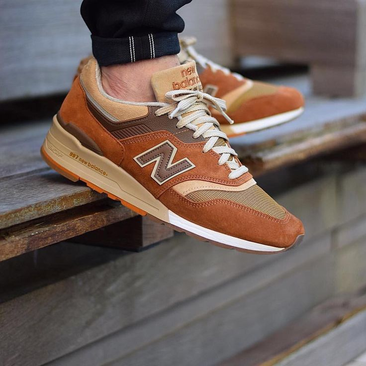 "J. Crew x New Balance 997 ""Butterscotch"""