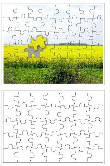 Free Printable Puzzle Templates | Free Homeschool Deals ©