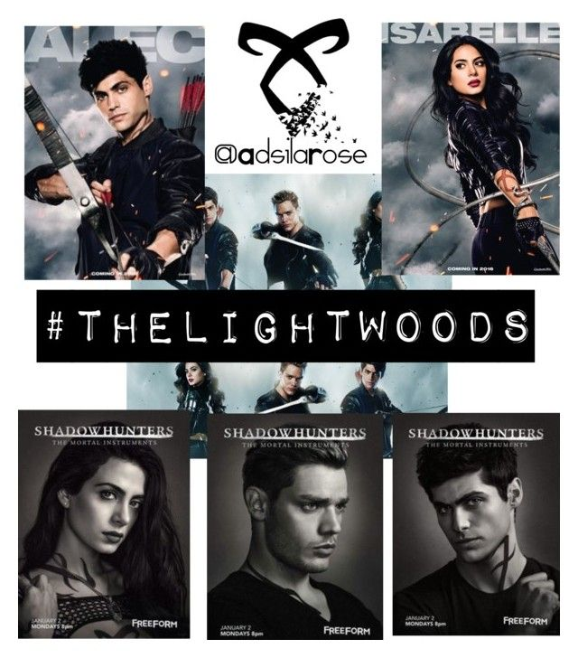 Join the #FangirlsDomain contest #Shadowhunters: #TheLightwoods by adsilarose on Polyvore featuring polyvore art beoriginal shadowhunters FangirlsDomain AdsilaRose thelightwoods