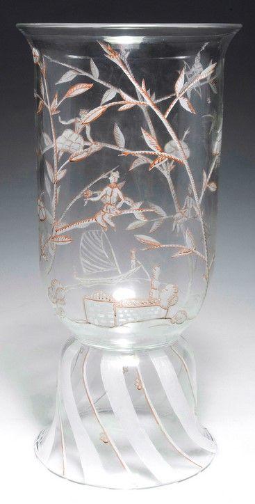 Vase, 1919 Jesser, Hilde (Dekor) - Wiener Werkstätte; Oertel, Johann, Haida