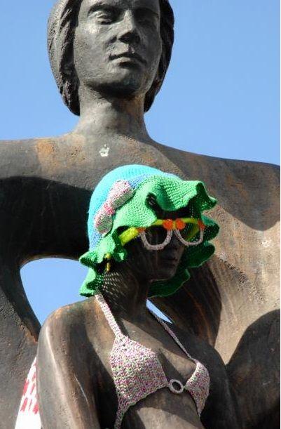 Urban Knitting Pamplona-Iruñea https://www.facebook.com/urbanknitting.pamplonairunea