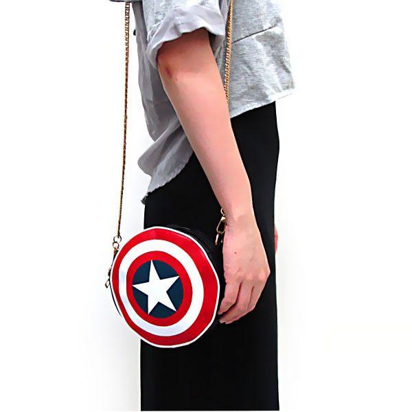 Captain America Shield Crossbody Bag | GEEKYGET