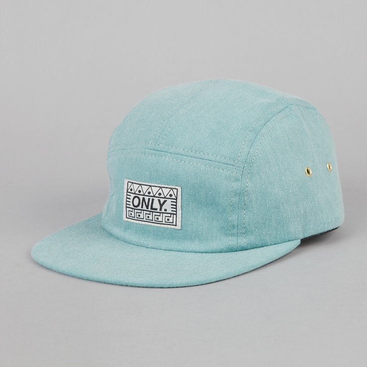 Only NY Tombs 5 Panel Cap Jade