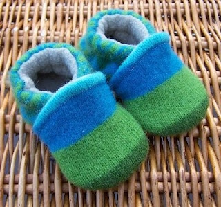 Made from recycled wool sweaters
