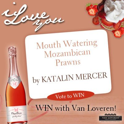 Katalin says 'I love you' with her delicious Prawns recipe. To see the full recipe, go to -  http://on.fb.me/1m7kog7 #vanloveren #monthoflove #recipe