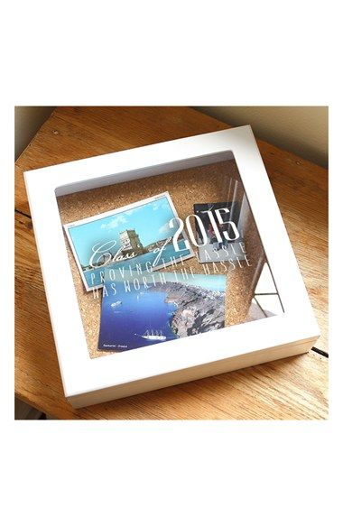Help your graduate keep their memories with Cathy's Concepts 2015 Graduation Keepsake Shadow Box from @nordstrom