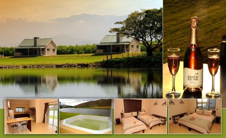 Goudmyn River Chalets :: Winelands accommodation in the Western Cape, South Africa