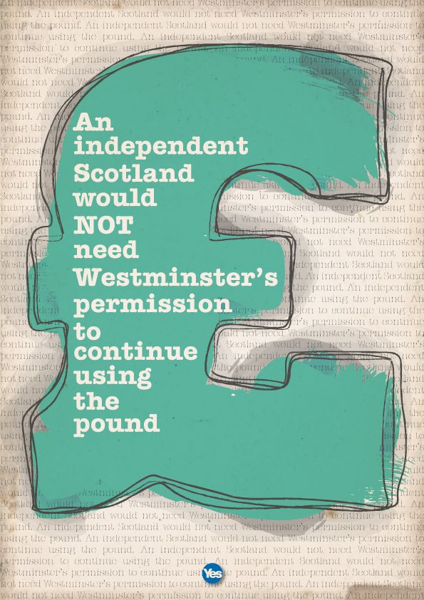 best indyref graphics images scottish we don t need permission to use the pound indyref scotland