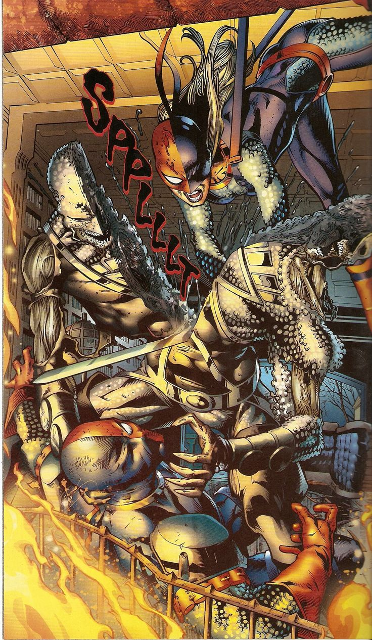 Ravager and Deathstroke by Joe BennettDeathstroke And Ravager