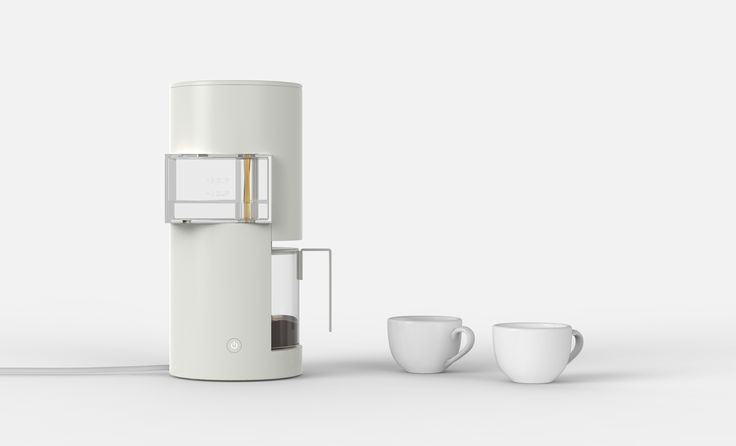Coffee Maker Design: Architecture Coffee Maker  A coffee maker inspired by modern Japanese architecture. Designer Huiyang Yu