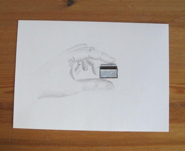 Lyijykynäpiirros, pencil