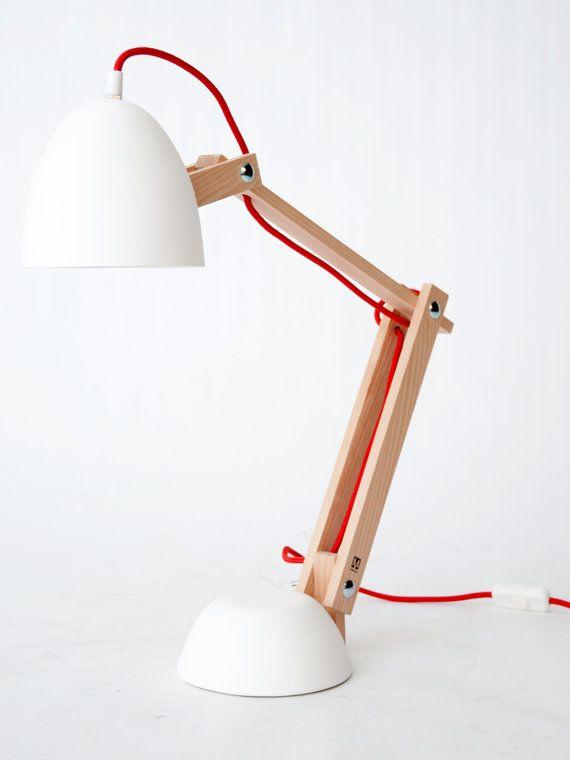 Helmut Desklamp by StudioMOSSdesign (Marcel Ossendrijver) on Etsy