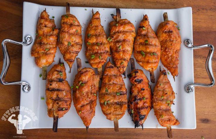Orange Honey Sriracha Chicken from Fit Men Cook