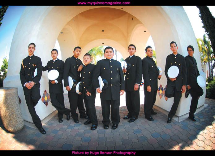 Quinceanera Chambelanes Outfits Damas and Chambelanes ...