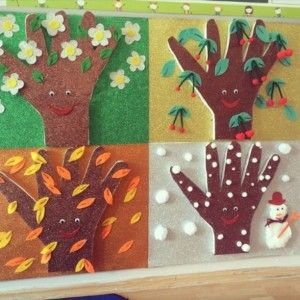 seasons craft ideas 18 best 4 seasons craft images on kindergarten 2899