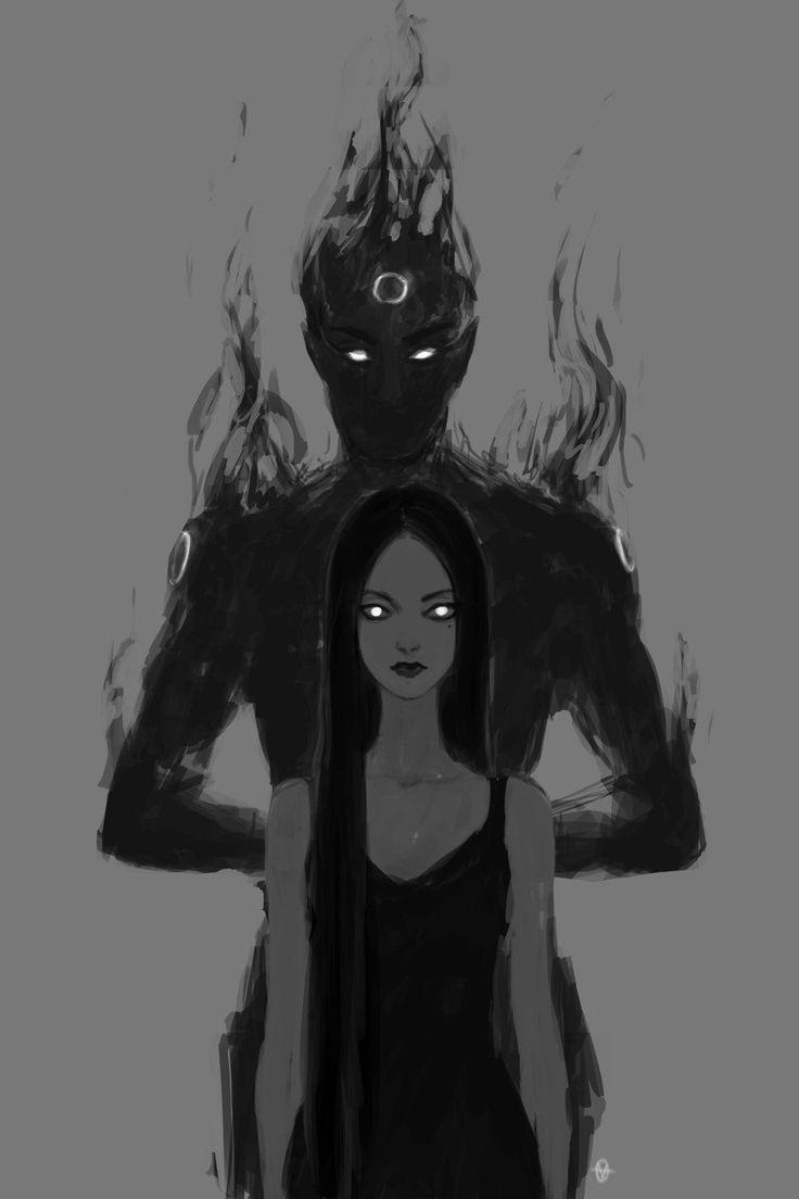 fgzQZZcssS4.jpg (800×1200) Me recuerda a una personaje que había creado en una historia, su nombre era Deyanira (destructora de hombres) aunque ella usa una ropa más elegante y medieval. Pero tienen en común que ambas llevan una sombra detrás de ellas