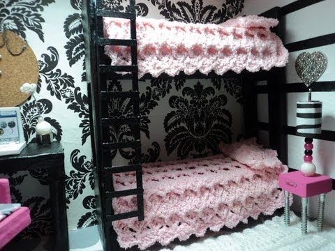 Doll House Bunk Bed tutorial