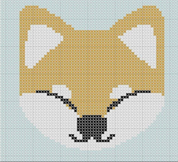 Shiba Inu  Adorable Japanese X Stitch  by designer Erica Kimberly.