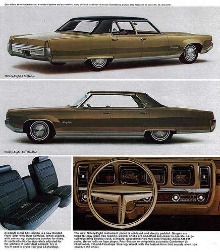 1969 Oldsmobile 98 LS Sedan